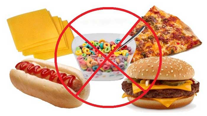 غذاهای مضر در درمان بواسیر یا هموروئید
